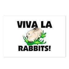 Viva La Rabbits Postcards (Package of 8)