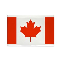 Canadian Gifts Rectangle Magnet