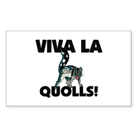 Viva La Quolls Rectangle Sticker