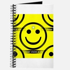 Unique American smiley face Journal