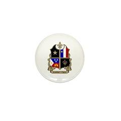 ACADIAN-CAJUN Shield Mini Button (100 pack)