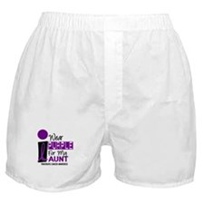 I Wear Purple For My Aunt 9 PC Boxer Shorts