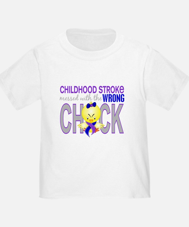 Childhood Stroke MessedWithWr T-Shirt