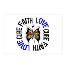 Autism FaithLoveCure Postcards (Package of 8)