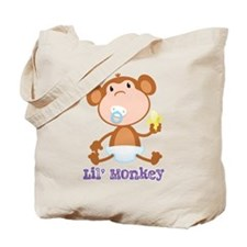 Lil' Monkey Tote Bag