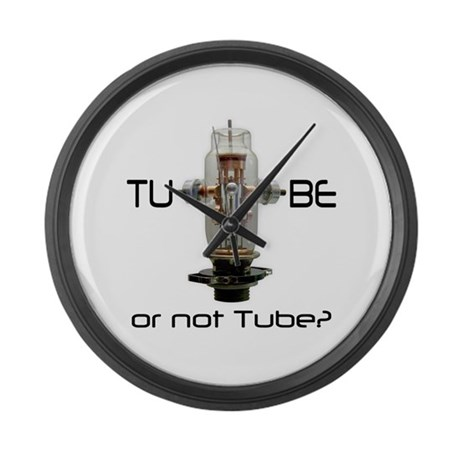 Triode Large Wall Clock