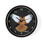 Flight Pigeon Wall Clock