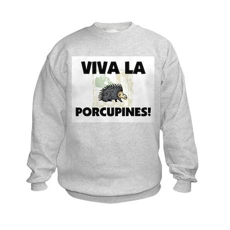 Viva La Porcupines Kids Sweatshirt