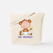 Lil' Monkey Smile Tote Bag
