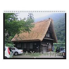 A Year in Japan Wall Calendar