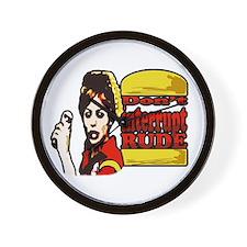 Unique Burger Wall Clock