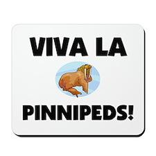 Viva La Pinnipeds Mousepad