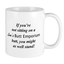 Lou's Butt Emporium Mug