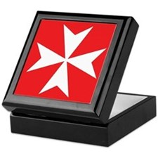 Maltese Cross Keepsake Box