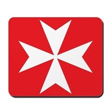 Maltese Cross Mousepad