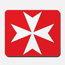 Maltese Cross Mousepad