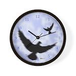 Homer Fly Home! Wall Clock