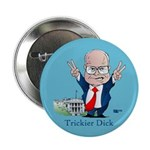 "Trickier Dick Logo 2.25"" Button (100 pack)"
