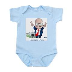 Trickier Dick Logo Infant Creeper