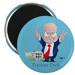 "Trickier Dick Logo 2.25"" Magnet (10 pack)"