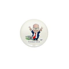 Trickier Dick Logo Mini Button (100 pack)