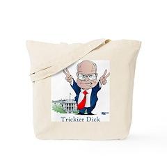 Trickier Dick Logo Tote Bag