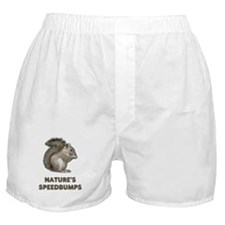 Squirrels Boxer Shorts
