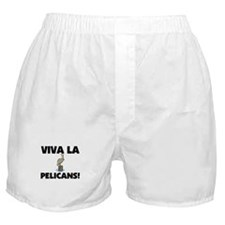 Viva La Pelicans Boxer Shorts