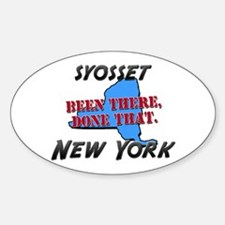 syosset new york - been there, done that Decal