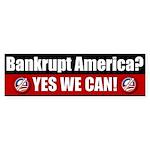 Bankrupt America? Bumper Sticker (50 pk)