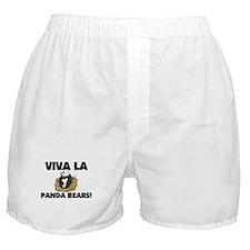 Viva La Panda Bears Boxer Shorts