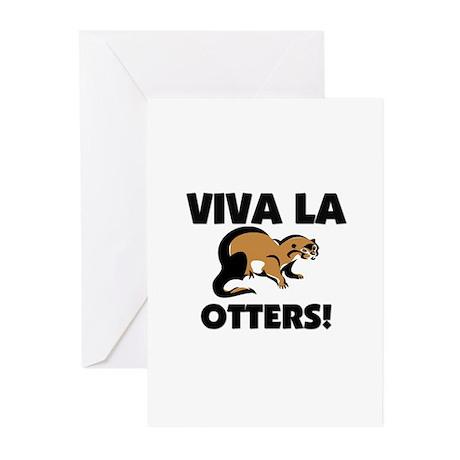Viva La Otters Greeting Cards (Pk of 10)