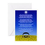 Christmas Poem Greeting Cards (Pk of 10)