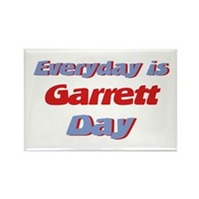 Everyday is Garrett Day Rectangle Magnet