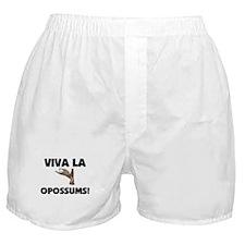 Viva La Opossums Boxer Shorts