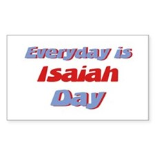 Everyday is Isaiah Day Rectangle Decal