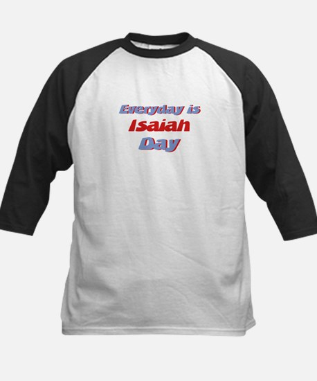 Everyday is Isaiah Day Kids Baseball Jersey