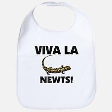 Viva La Newts Bib