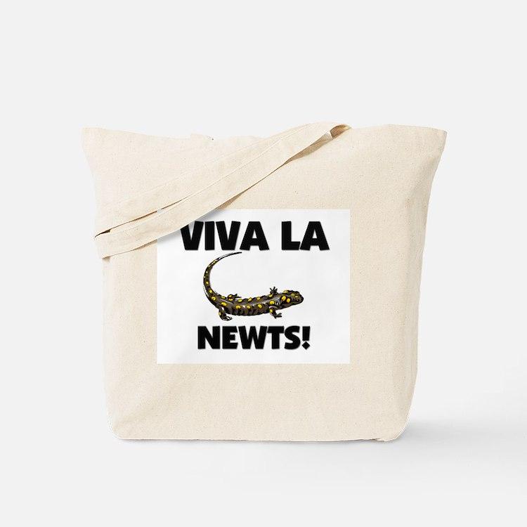 Viva La Newts Tote Bag