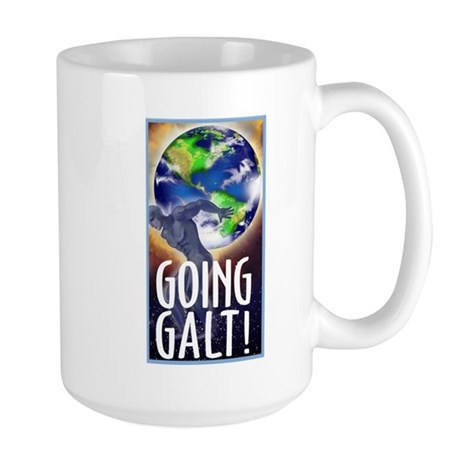 GOING GALT Large Mug