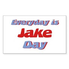 Everyday is Jake Day Rectangle Decal