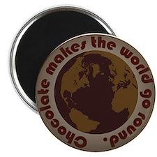"choc world 2.25"" Magnet (10 pack)"