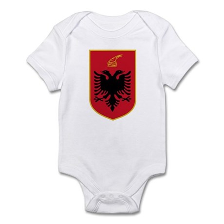 Albania Coat of Arms Infant Bodysuit