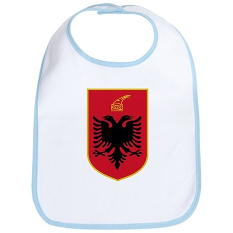 Albania Coat of Arms Bib