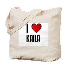 I LOVE KAILA Tote Bag