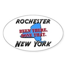 rochester new york - been there, done that Decal
