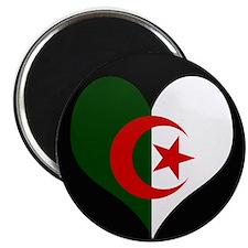 I love Algeria Flag Magnet
