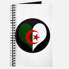 I love Algeria Flag Journal