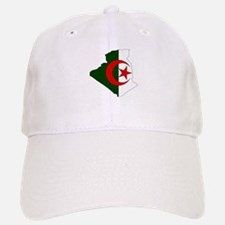 Algeria Flag Map Baseball Baseball Cap