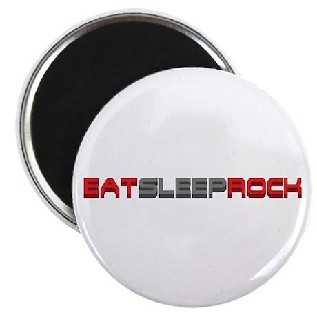 Eat Sleep Rock Magnet